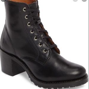 FRYE Sabrina 6G Lace Up Bootie